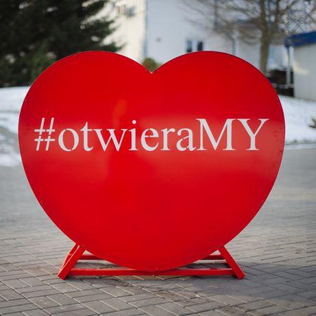 Pojemnik serce na nakrętki #otwieraMY !!! Wyróżnij się!