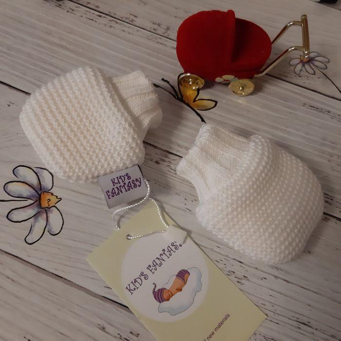Рукавички на меху для новорождённых Киев - изображение 1
