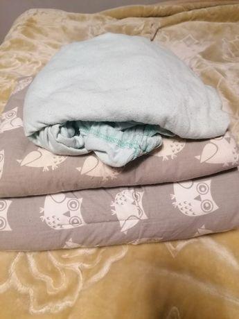 Kołdra poduszka do łóżeczka gratis prześcieradło