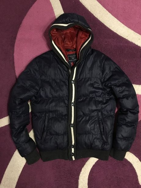 Оригинальный зимний пуховик (куртка) zara