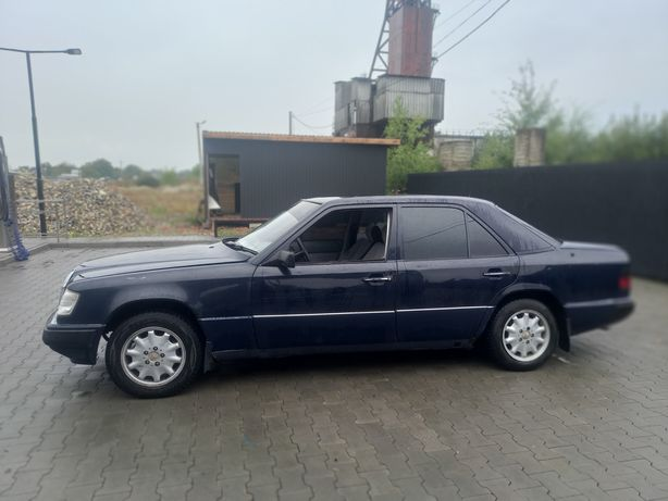 Mercedes Benz W124 2.6 газ бензин находу