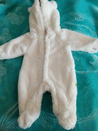 Białe ubranko do chrztu Hema rozmiar 50