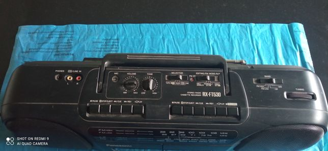 Radiomagnetofon Panasonic