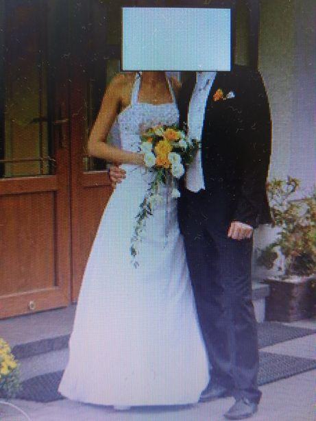 Włoska suknia ślubna VEROMIA rozm. 38