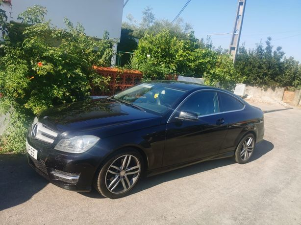 Mercedes c250cdi coupe amg line 2014