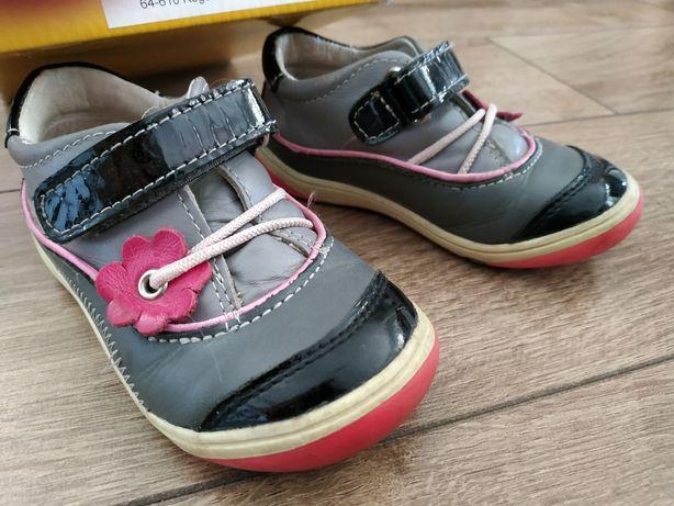 Półbuty buty buciki skórzane Gaspar r. 23