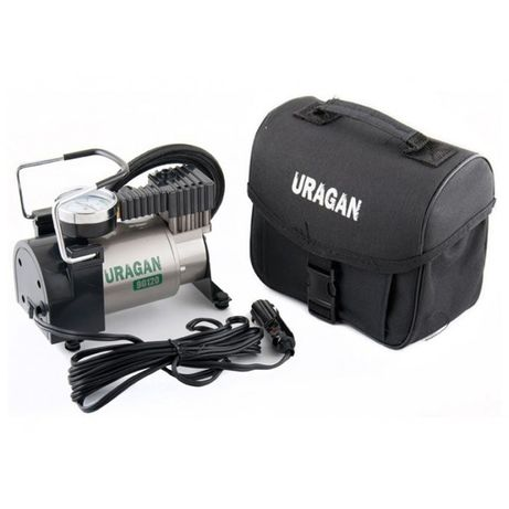 Автомобильный компрессор URAGAN 90120 (Авто компрессор) (24 мес. гара