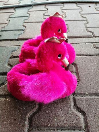 Kapcie flamingi rozmiar 14 polskie 32