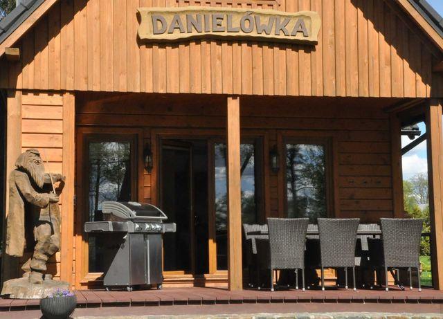 Danielówka - domek w parku na Kaszubach