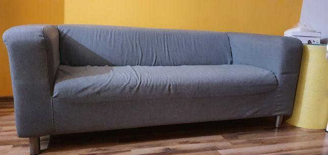 Sofa IKEA +gratis czerwony pokrowiec