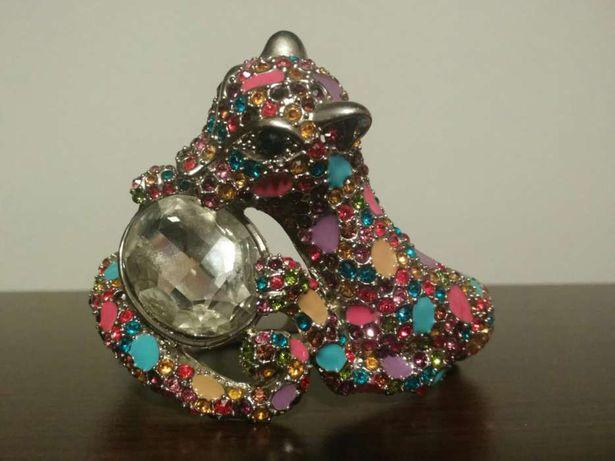 Bransoletka cyrkonie diament kolorowa