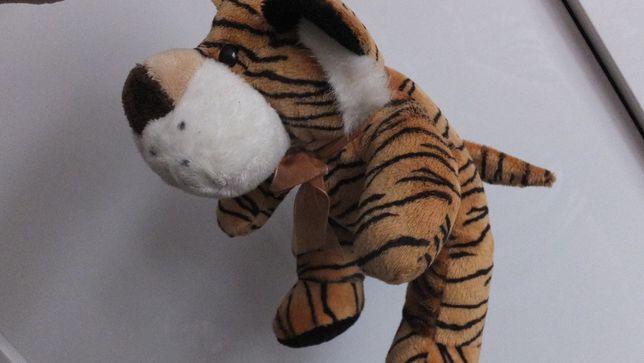 мягкая интерактивная игрушка Тигр милый плюшевый Тигренок 25х25х15 см