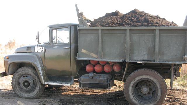 Чернозем,песок речной с доставкой Зил 5 тонн