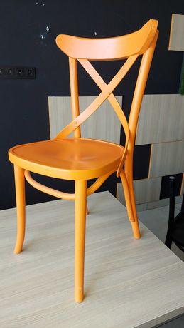 Krzesło klasyczne drewno kolor pomarańczowy AG-150P Radomsko