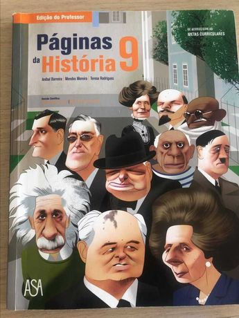 Páginas da História 9 - Edição do Professor