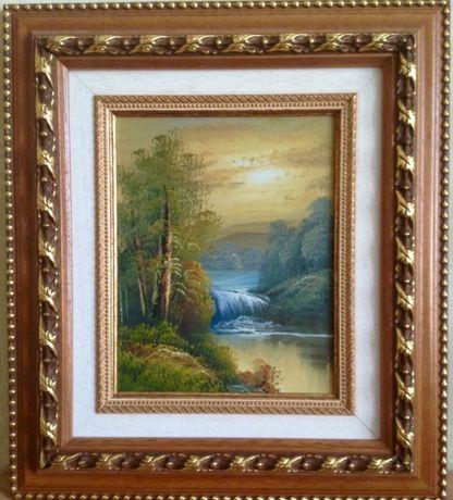 Картина пейзаж 38х43 см