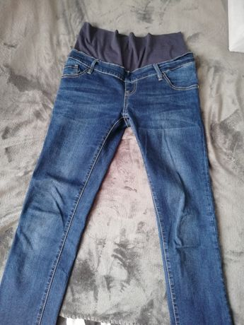 Jeansy ciążowe M