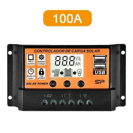 controlador painel solar 100amp