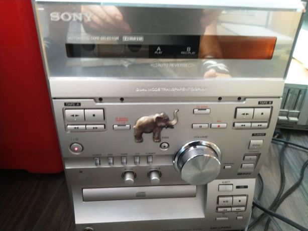 mini wieża Sony i 2 kolumny okazja!