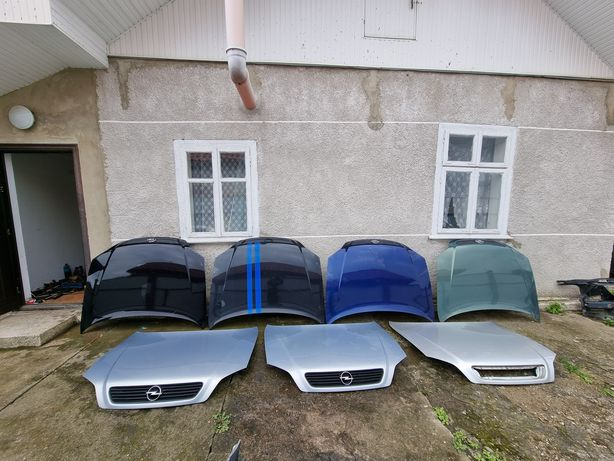 Капот Опель Астра Г Ж Opel Astra g решетка радиатора шумоизоляция шрот