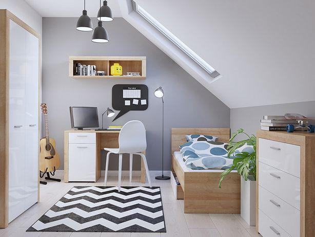 Детская мебель. Доставка бесплатно Комната: кровать, шкаф,стол,комод.