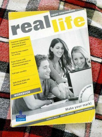 Real life upper intermediate workbook с диском