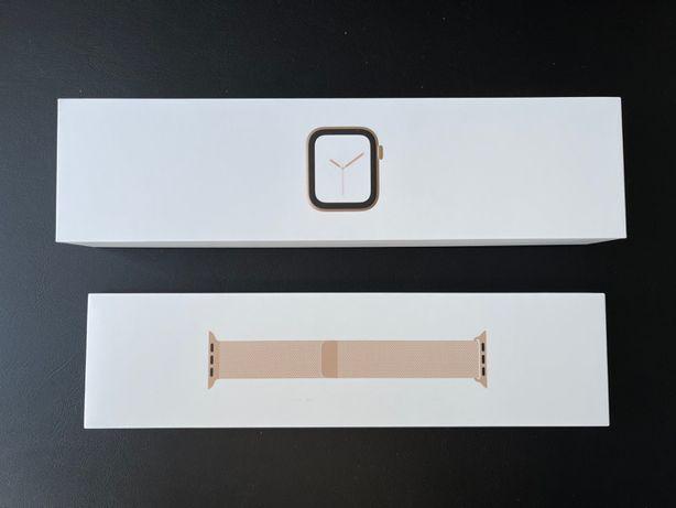 Apple Watch Series 4 44m Gold Stainless Steel Milanese Loop