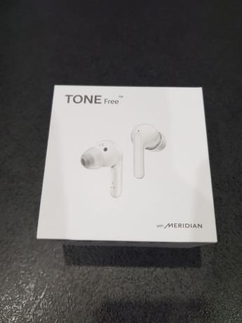 Słuchawki LG Tone Free, fabrycznie nowe