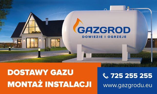 Gaz do instalacji przydomowych Propan, GAZ PROPAN czysty tylko