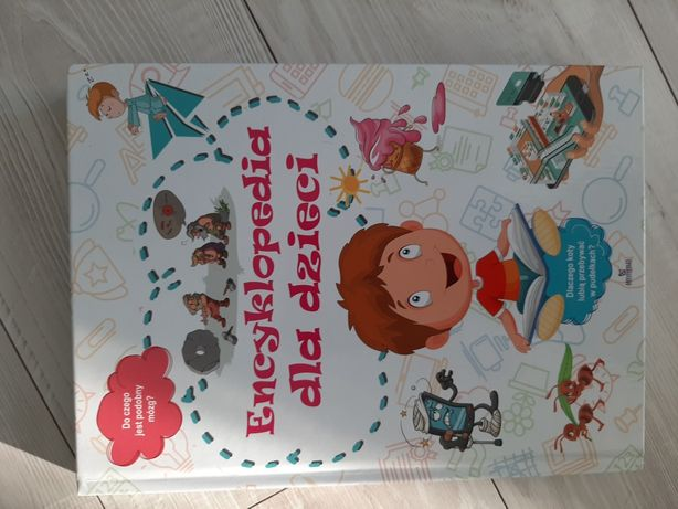 Książka encyklopedia dla dzieci
