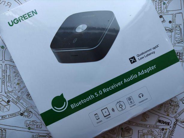 Bluetooth адаптер Ugreen Bluetooth 5.0 Audio Receiver прийомник aptX