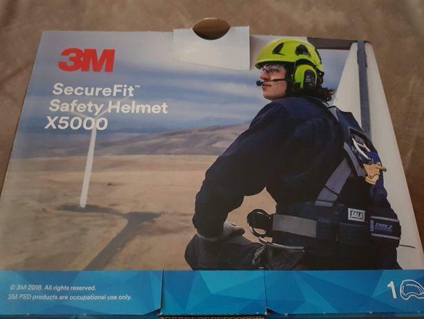 Hełmochronny3M SECUREFIT X5000- do pracy w budownictwie, przemyśle,