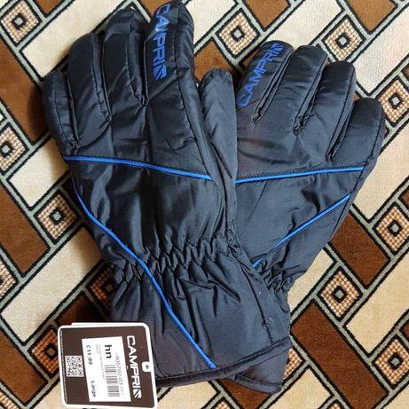 Мужские зимние лыжные перчатки (краги, рукавицы) Campri из Англии