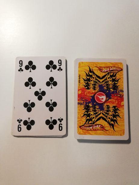 Karty do gry hot wheels od A do 9