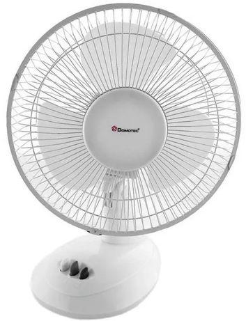 Вентилятор настольный портативный Domotec MS-1624 30 Вт 2 режима