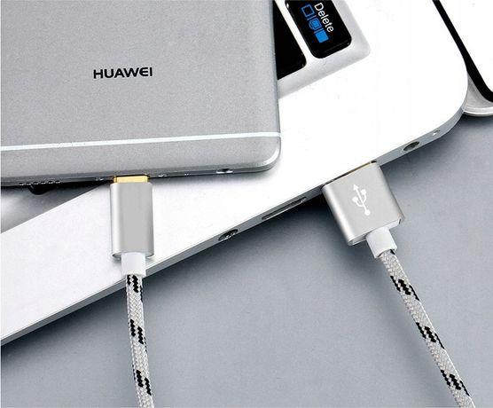 Nowy wzmocniony kabel usb . Ładowarka. Przesył danych