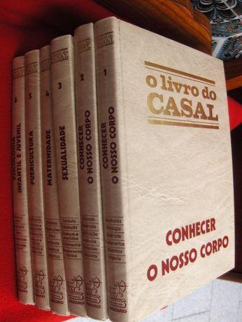 """Livros de Coleção: """"O LIVRO DO CASAL"""" - 6 volumes muito estimados"""