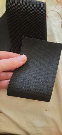 Широкая черная резинка для швей 7,5 см. На пояса