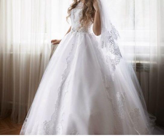 Свадебное платье ,весільне платья біле ,Ira Koval