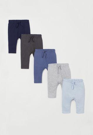 Spodnie legi H&M rozm 74 nowe