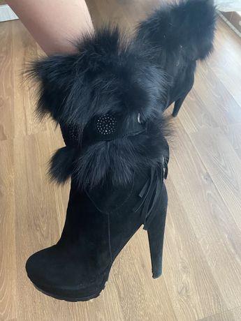 Ботинки женские . Черевички зимові
