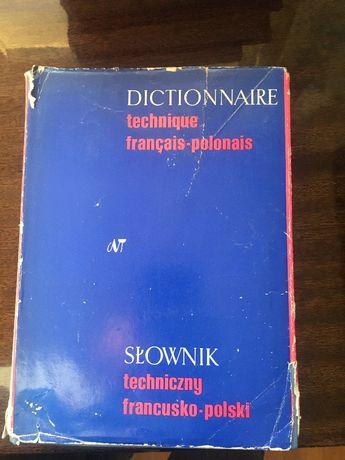 Słownik techniczny francusko-polski