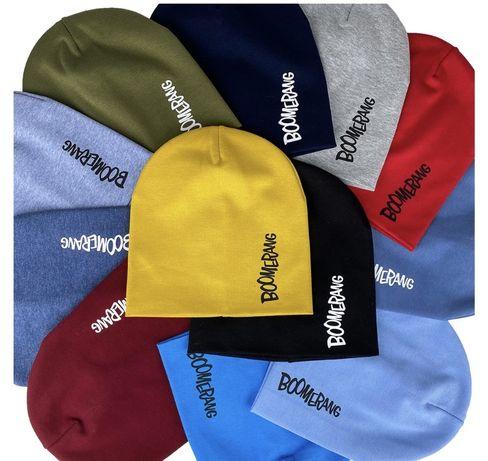 Скидка шапка  трикотаж тонкие много вариантов
