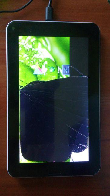 Продам планшет 7 дюймов на запчасти или восстановление