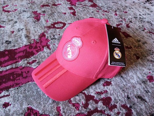 Czapka z daszkiem adidas real Madryt (nowa)