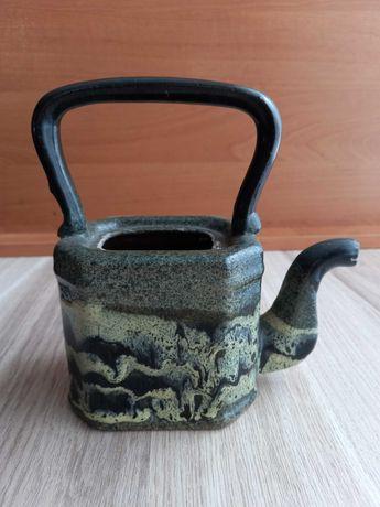 Чайник декоративний глиняний