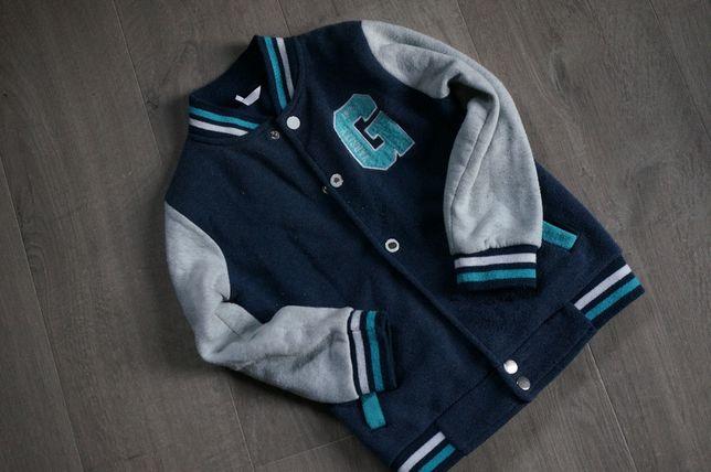 Bluza rozpinana dla dziecka kurtka 116 3 lata kurtka bejsbolowa