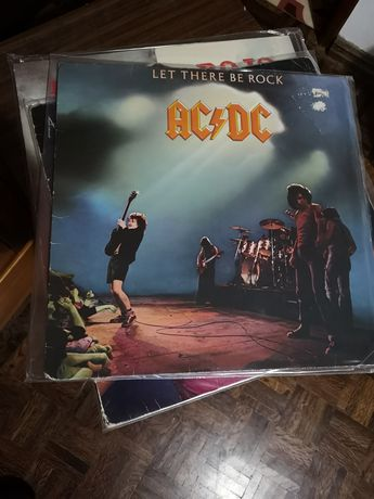 AC/DC - Let There Be Rock (Reino Unido)  LP Vinil
