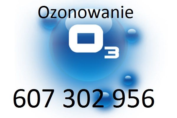 Ozonowanie ozon Dezynfekcja po zmarłych nieprzyjemne zapachy bakterie