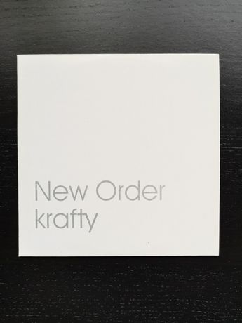 New Order [Single Colecionador] Krafty